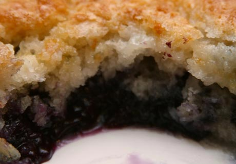 The Chuckwagon Blueberry Dump Cobbler The Chuckwagon Blueberry Dump Cobbler