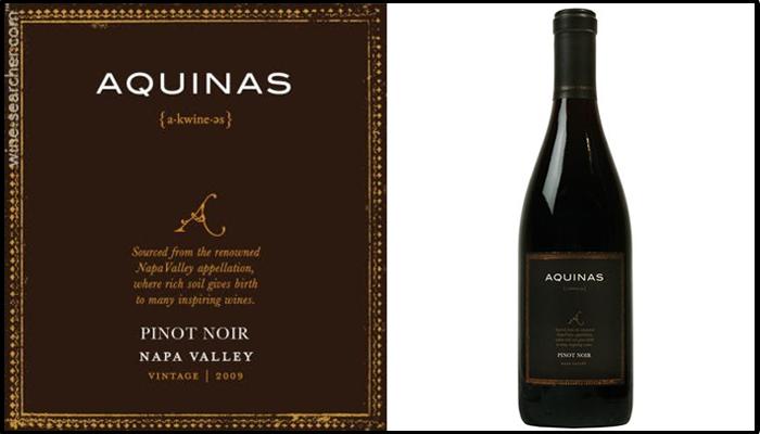 Aquinas Pinot Noir Napa 2009