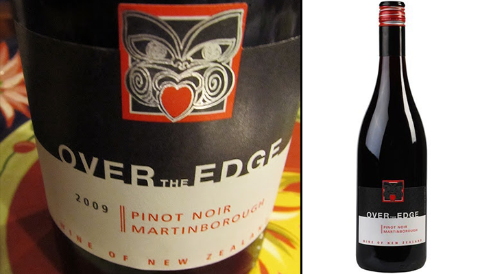Over the Edge Pinot Noir 2009