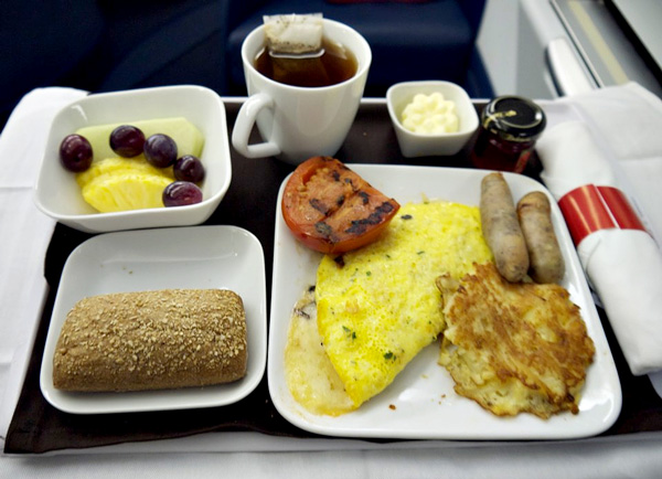 Breakfast on Delta Business Elite