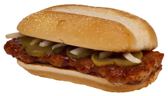 McRib Sandwich Recipe