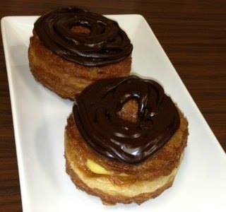 Chocolate Eclair doughnut croissant whole foods