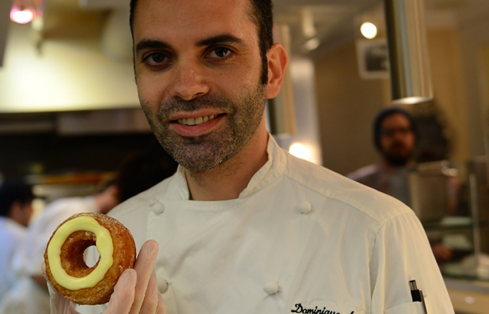 Dominique Ansel with Best-Selling Cronut