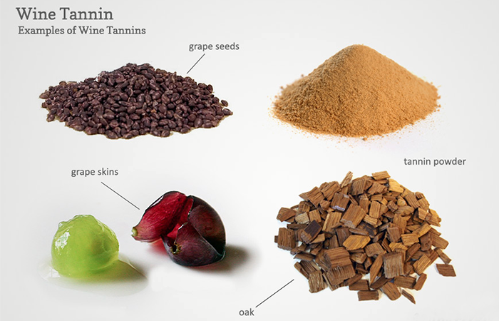 Sources of Wine Tannins