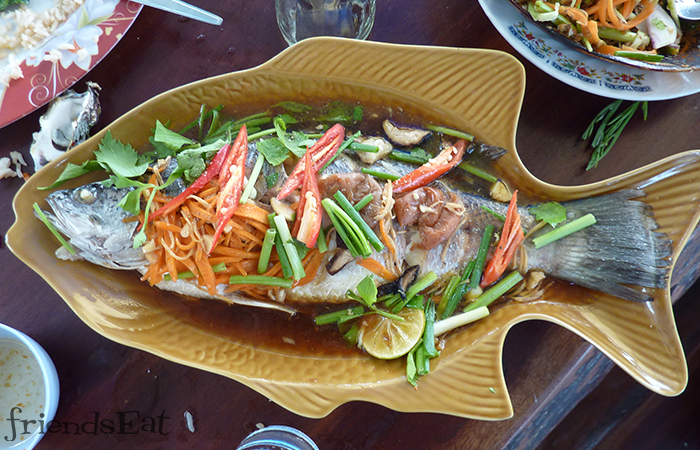 Plate-of-Steamed-Fish