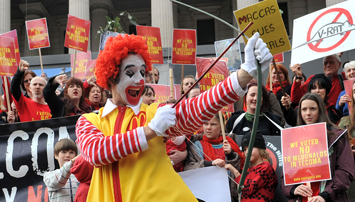 Protests Against McDonalds