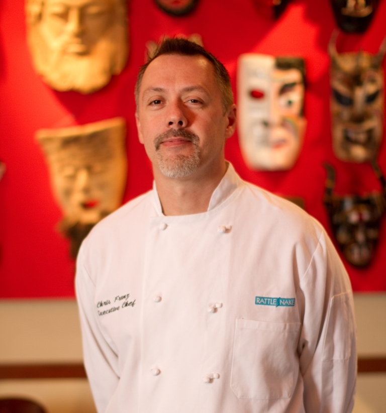 Rattlesnake Chef Chris Franz 2013