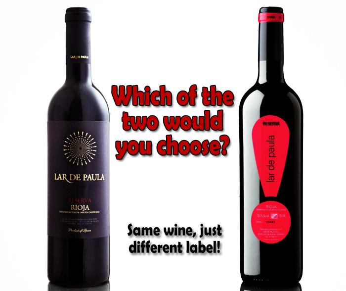 Same Wine - Different Label