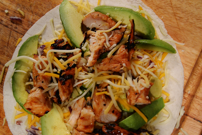 Grilled-Chicken-Quesadilla-with-Avocado-and-Red-Onions