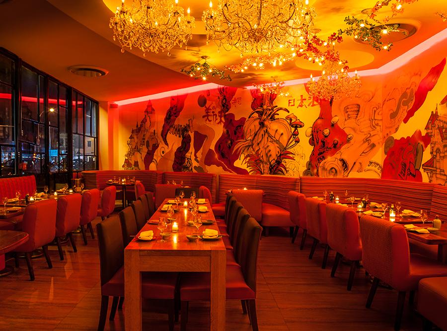 The Dining Room at Sushi Samba Japanese Latin Restaurant