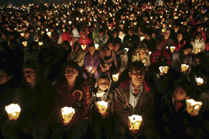 Day of the Candles in Colombia