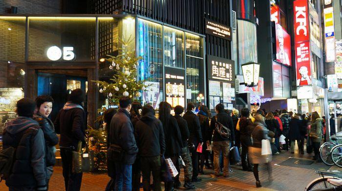 Japan and their traditional KFC Christmas dinner