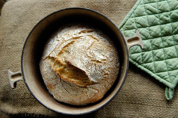 No-Knead-Bread-Making-Technique