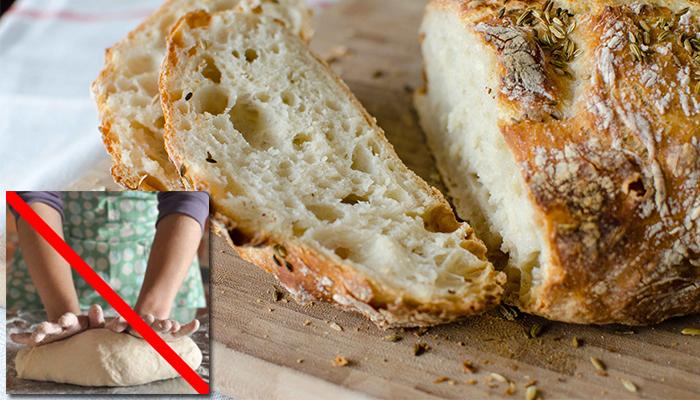 No-Knead-Bread-Technique