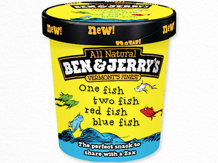 Ben & Jerry's One-Fish, Two-Fish, Red-Fish, Blue-Fish