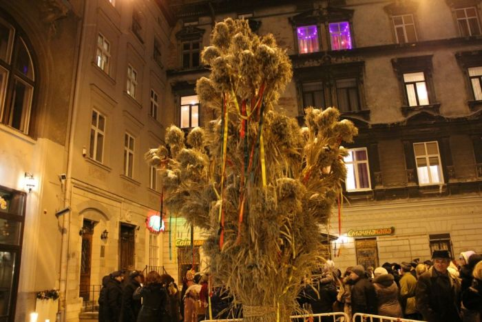 Ukraine Christmas Tree of Hay
