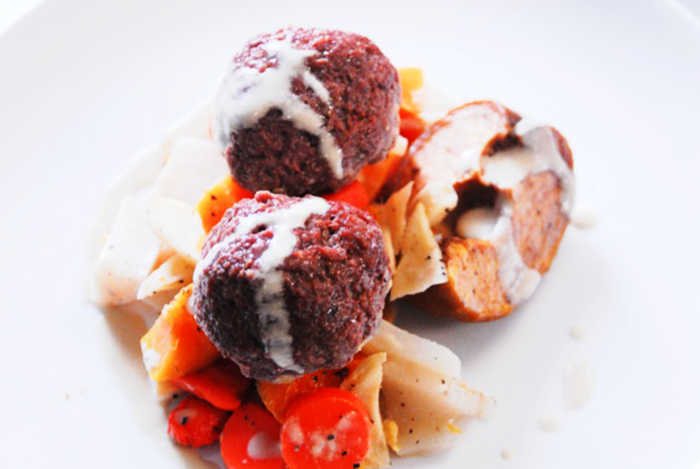 Bison-Meatballs-Plate-recipe-by-Christophe-Le-Metayer