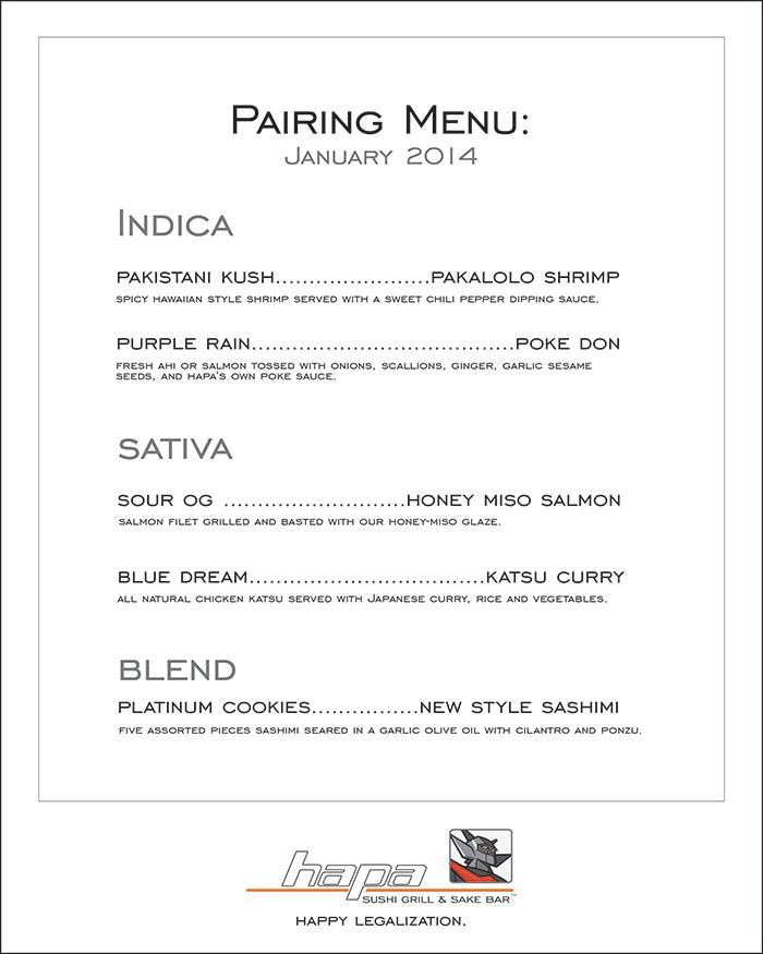 Hapa-Sushi-Grill-and-Sake-Bar-Marijuana-Food-Pairing-Menu