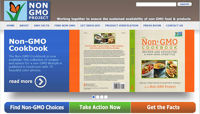Non-GMO-Project-Official-Website