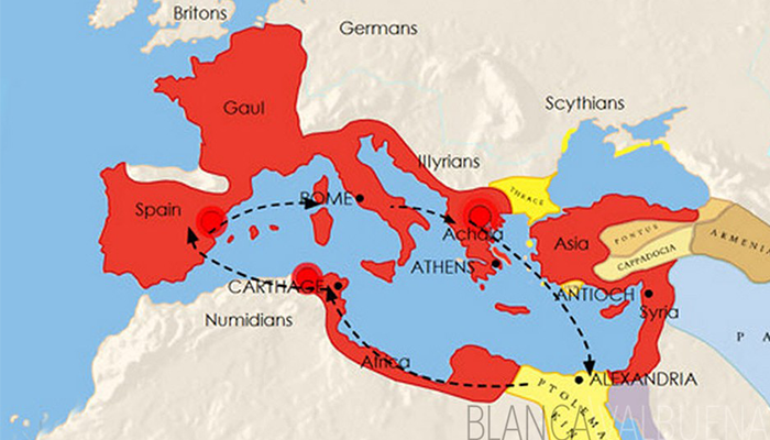 map-roman-empire